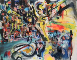 Darlinghurst Road 11, oil on canvas, 61x76, $60012