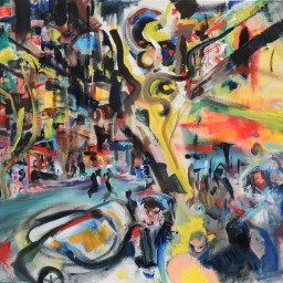 Darlinghurst Road 11, oil on canvas, 61x76, $60012