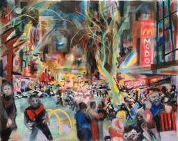Darlinghurst Road 12, oil on canvas, 61x76, $60012