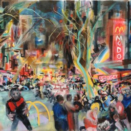 Darlinghurst Road 12, oil on canvas, 61x76, $60012