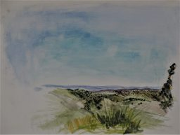 North West Sky 2, Watercolour, 240X320, $200