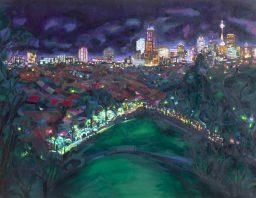 Mount Steel, oil on canvas, 106x137, $1500