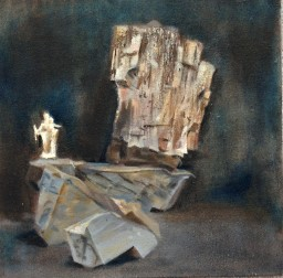 oil on canvas, 10x10, $400