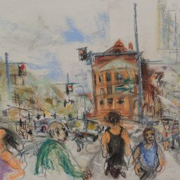 Darlinghurst Road 12, 29x42, $200