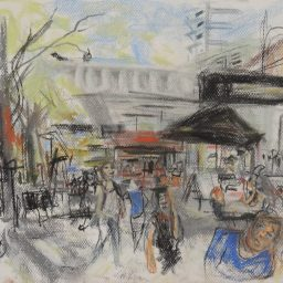 Darlinghurst Road 8, 29x42, $200