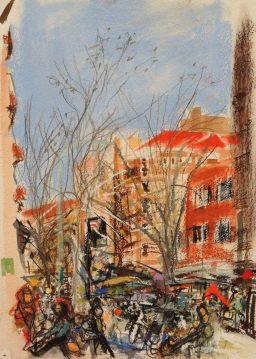 Macleay Street 3, 42x29, $200