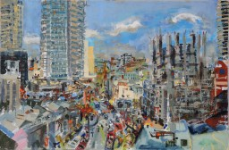 Wintergarden1 oil on canvas, 61x91, $600