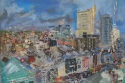 Wintergarden2, oil on canvas, 61x91, $600