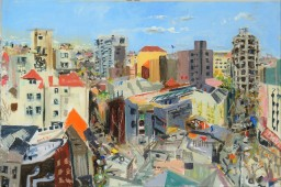 Wintergarden 4,oil on canvas, 61x91, $600